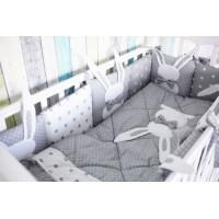 Комплект в кроватку Топотушки Зайка (6 предметов) 678