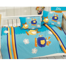 Комплект в кроватку Ups Pups Вертолётики (6 предметов)
