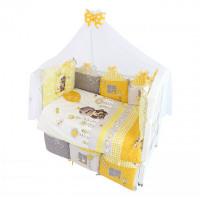 Комплект в кроватку Золотой Гусь Basik Village (7 предметов) 120х60