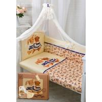 Комплект в кроватку Золотой Гусь Умки (7 предметов)