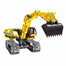 Конструктор Bondibon 2 в 1 Техника Экскаватор-робот (342 детали)