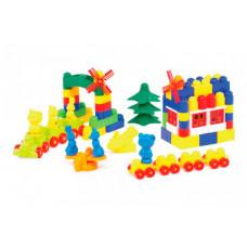 Конструктор Colorplast Мастер Блок №8 (108 деталей)