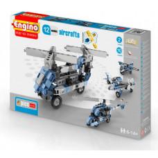 Конструктор Engino Eco Builds Самолеты 12 в 1