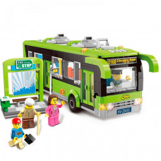 Конструктор Enlighten Brick Автобус 1121 (420 элементов)