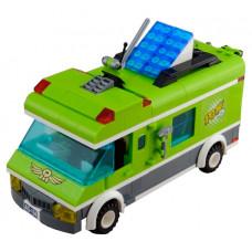 Конструктор Enlighten Brick Зелёный фургон 1120 (380 элементов)