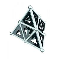 Конструктор Geomag магнитный Black & White 68 деталей