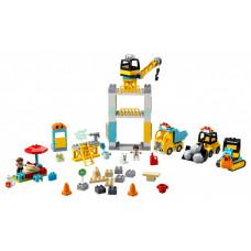 Конструктор Lego Башенный кран на стройке