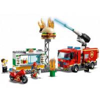 Конструктор Lego City 60214 Fire Пожар в бургер-кафе