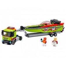 Конструктор Lego City 60254 Лего Город Транспортировщик скоростных катеров