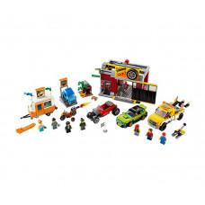 Конструктор Lego City 60258 Лего Город Тюнинг-мастерская