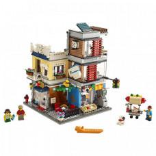 Конструктор Lego Creator Зоомагазин и кафе в центре города