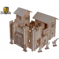Конструктор Лесовичок Замок №4 (600 деталей)