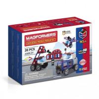 Конструктор Magformers Магнитный Amazing Police & Rescue Set