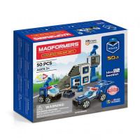 Конструктор Magformers Магнитный Amazing Police Set (50 элементов)