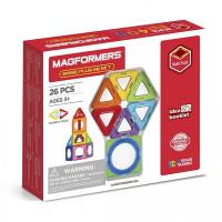 Конструктор Magformers Магнитный Basic Plus 26 Set
