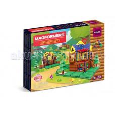 Конструктор Magformers Магнитный Log House Set (87 деталей)