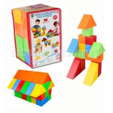 Конструктор Pilsan 10 деталей Lux Кубики