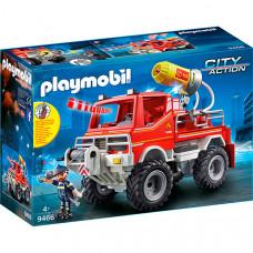 Конструктор Playmobil Пожарная служба: пожарная машина 9466pm