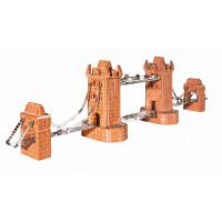 Конструктор Teifoc Строительный набор Башенный мост 1000 деталей