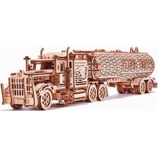 Конструктор Wood Trick механический 3D-пазл Биг Риг Цистерна