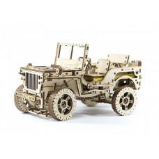 Конструктор Wooden City Полноприводный автомобиль 4х4 (550 деталей)