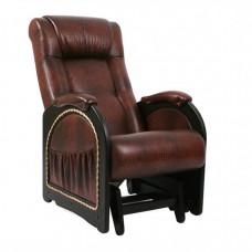 Кресло для мамы Комфорт Глайдер Венге с лозой МИ 48