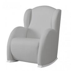 Кресло для мамы Micuna качалка Wing/Flor искусственная кожа