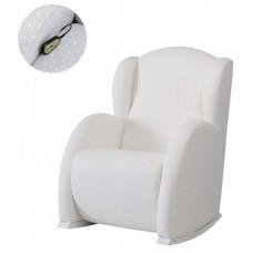 Кресло для мамы Micuna качалка Wing/Flor Relax искусственная кожа