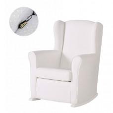 Кресло для мамы Micuna качалка Wing/Nanny Relax искусственная кожа