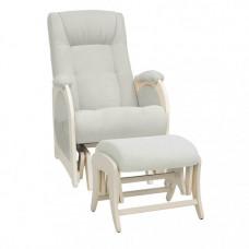 Кресло для мамы Milli Joy с пуфом Uni Дуб шампань
