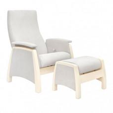 Кресло для мамы Milli Sky с пуфом Sky Дуб шампань