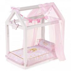 Кроватка для куклы DeCuevas с аксессуарами Мария 55 см