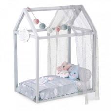 Кроватка для куклы DeCuevas с аксессуарами Мартин 83 см