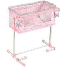 Кроватка для куклы DeCuevas с опускающимся бортиком Мария 50 см