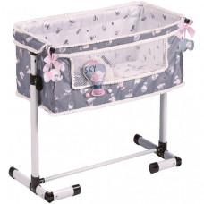 Кроватка для куклы DeCuevas с опускающимся бортиком Скай 50 см