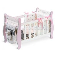 Кроватка для куклы DeCuevas серии Скай 63 см