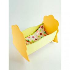 Кроватка для куклы Коняша Люлька Лето