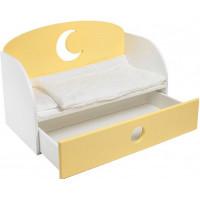 Кроватка для куклы Paremo Диван Луна