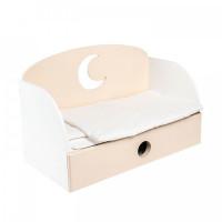 Кроватка для куклы Paremo диван Луна Мини