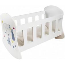 Кроватка для куклы Paremo Люлька Крошка Ди