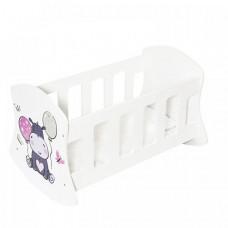 Кроватка для куклы Paremo люлька Мимими Крошка Дори
