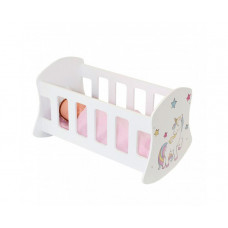 Кроватка для куклы Paremo люлька Мимими Крошка Лали