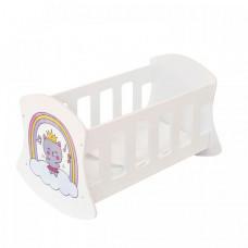 Кроватка для куклы Paremo люлька Мимими Крошка Миу
