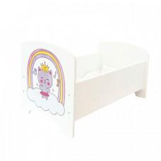 Кроватка для куклы Paremo Мимими Крошка Миу