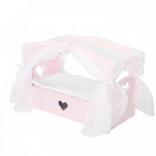 Кроватка для куклы Paremo с бельевым ящиком Любимая кукла Мини