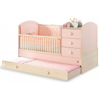 Кроватка-трансформер Cilek Baby Girl 130х80/180х80 см