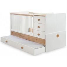 Кроватка-трансформер Cilek Natura Baby 131х80/177х80 см