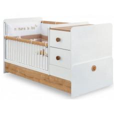 Кроватка-трансформер Cilek Natura Baby 160х75 см
