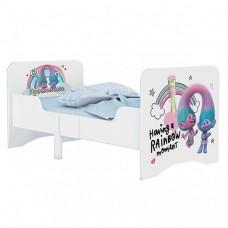 Кроватка-трансформер Polini kids Fun 3200 Тролли