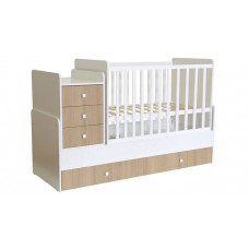 Кроватка-трансформер Polini Kids Simple 1111